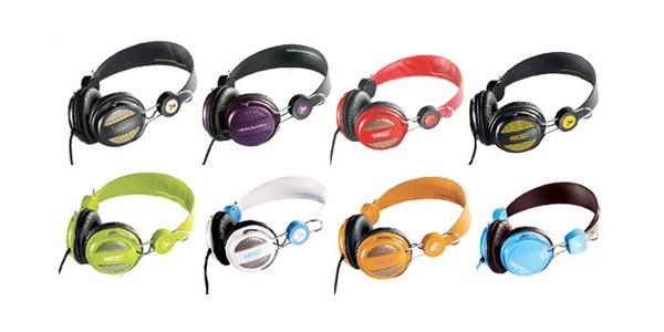Les casques Wesc aux couleurs acidulées