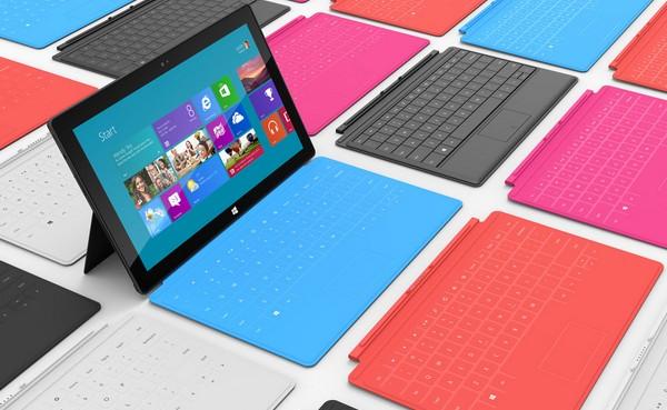 Les premières tablettes tactiles colorées