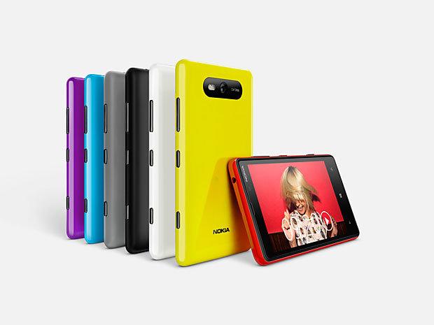 Les Nokia Lumia 820