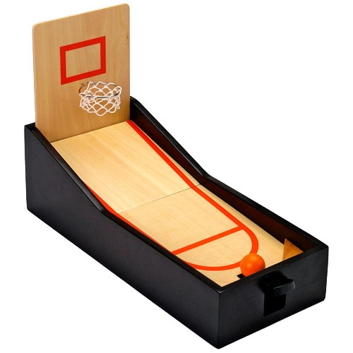 Un mini terrain de basket