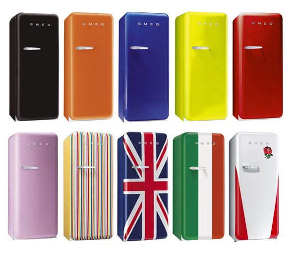 La gamme de frigo SMEG