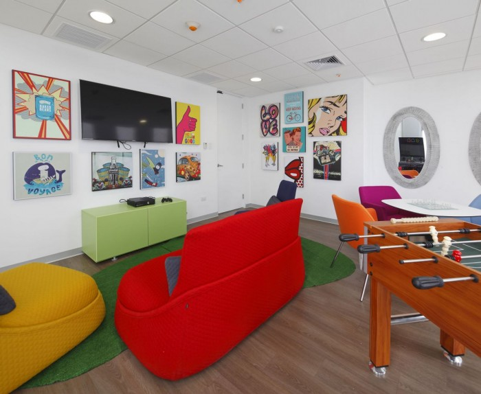 Les plus beaux bureaux d entreprises de la fin d 39 ann e 2013 for Obligation salle de repos au travail