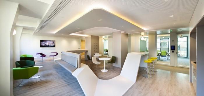 Les plus beaux bureaux d 39 entreprises du mois de janvier 2014 for Amenagement espace detente entreprise