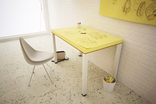 post-it-table
