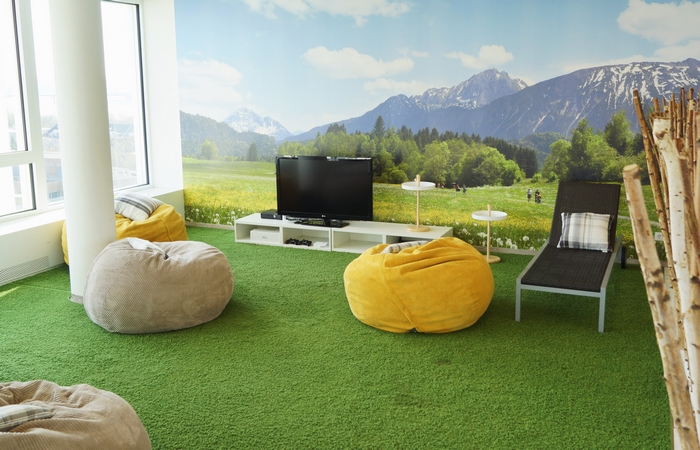 Les espaces de d tente les plus cool de la plan te for Amenagement espace detente entreprise