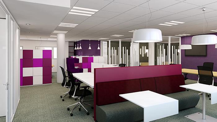 Les plus beaux bureaux du mois d 39 ao t 2014 for Amenagement salle de repos entreprise