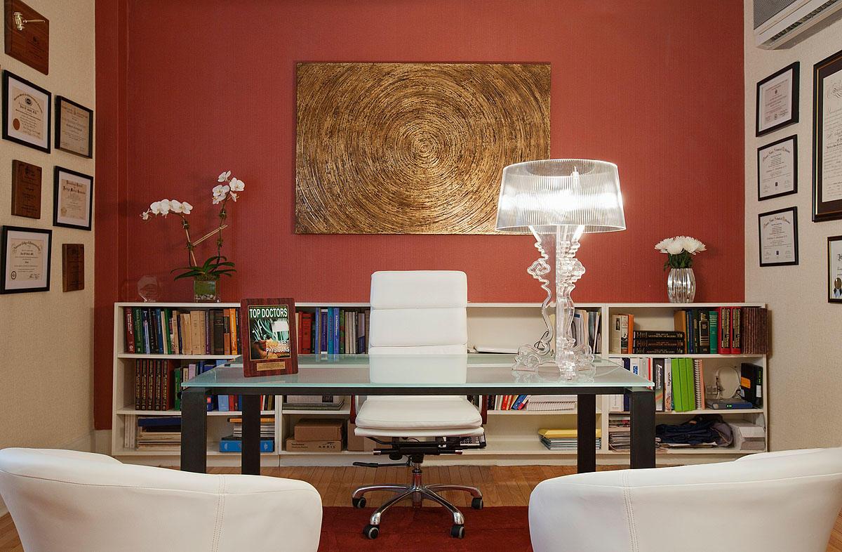 Décoration Murale Bureau Entreprise aménagement - décoration d'un cabinet médical ou du bureau d