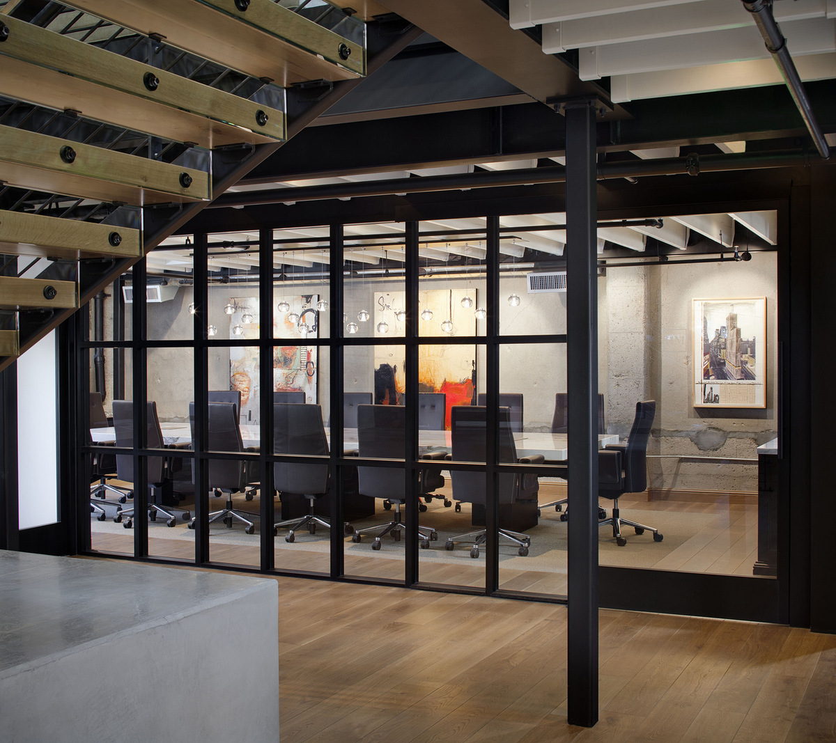 garage doors color ideas - Décoration de bureau ment adopter le style industriel