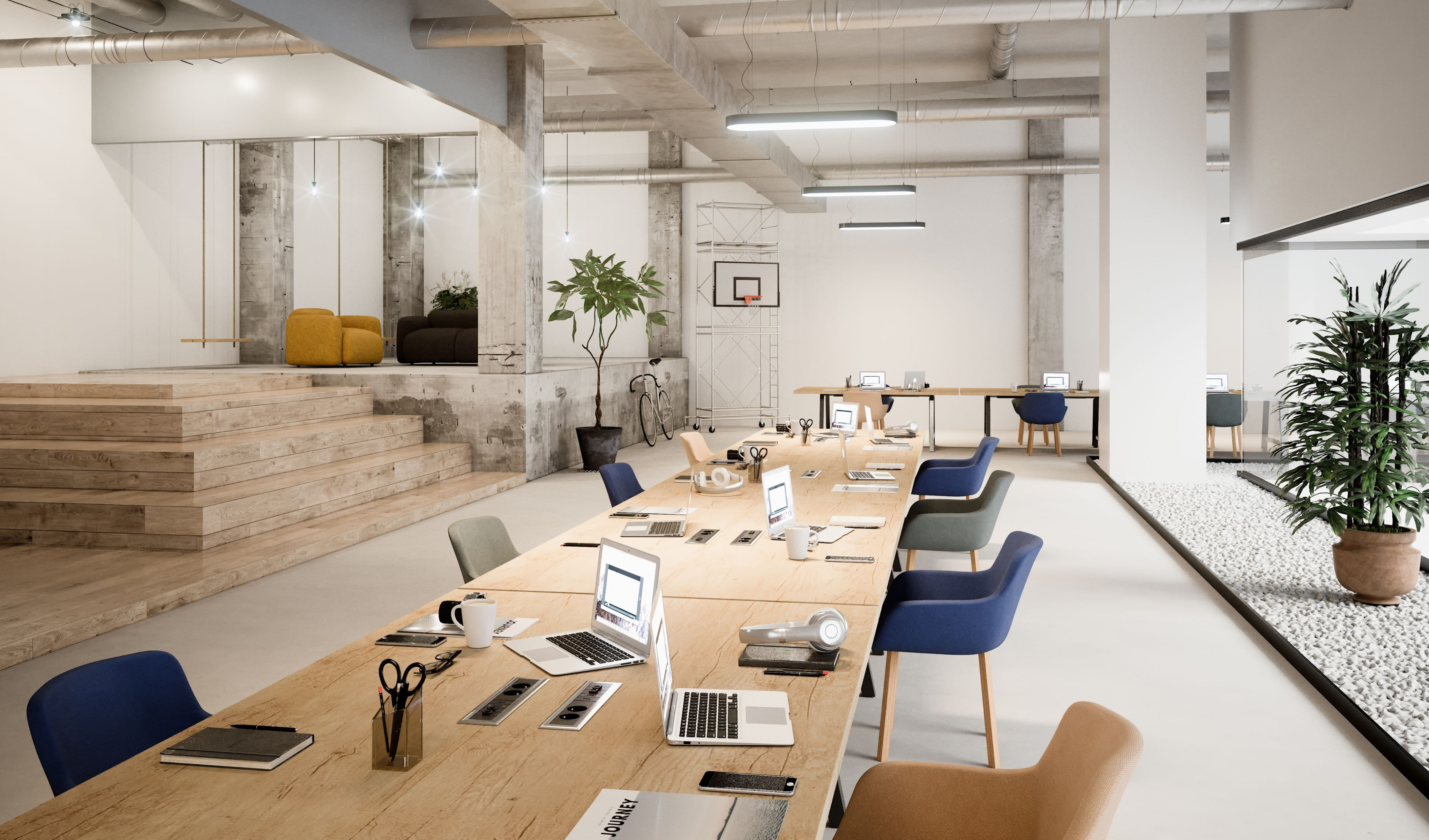 mobilier coworking table